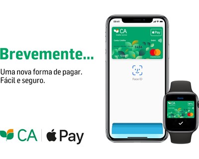 Crédito Agrícola vai disponibilizar Apple Pay