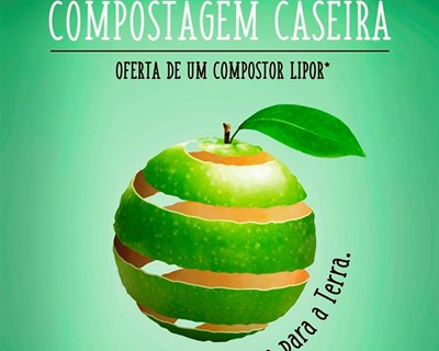 Workshops sobre compostagem caseira a norte