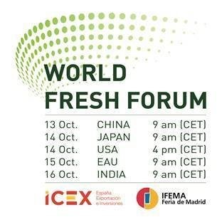 World Fresh Forum acontece entre 13 e 16 de outubro