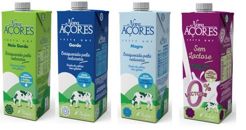 Leite Nova Açores Apresenta Nova Imagem Numa Embalagem Mais Prática